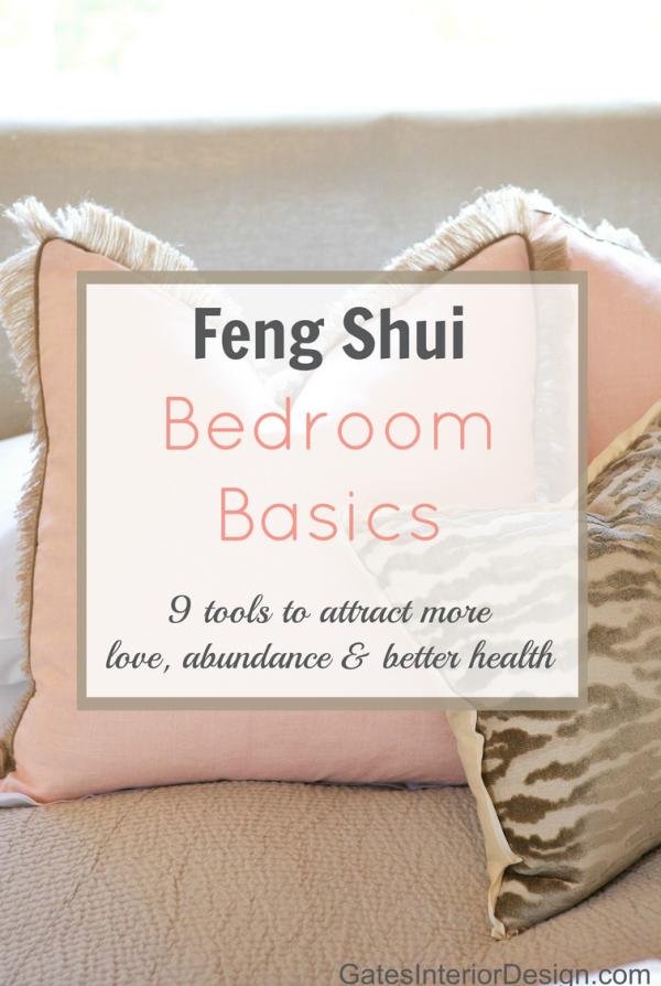 interior design | Amanda Gates | Feng Shui Bedroom Basics