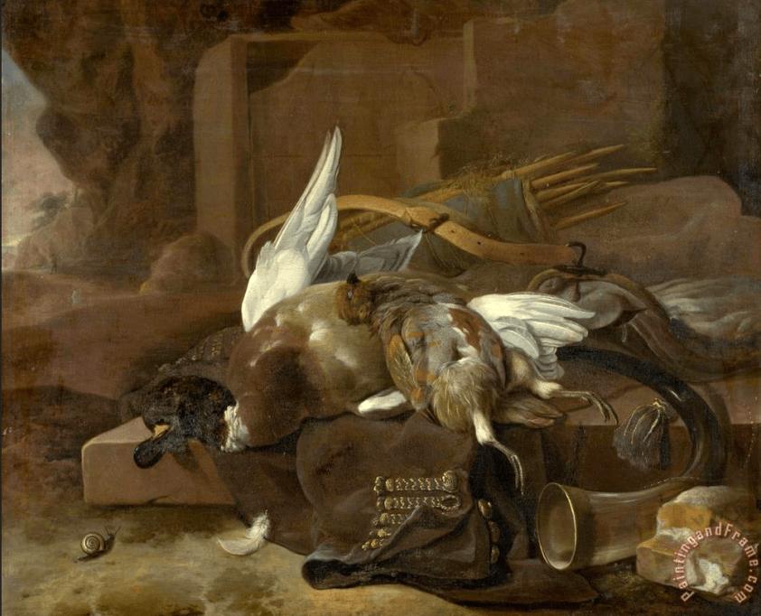 melchior-de-hondecoeter-dead-birds