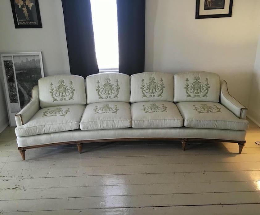 chairish Thomasville vintage sofa 1,500