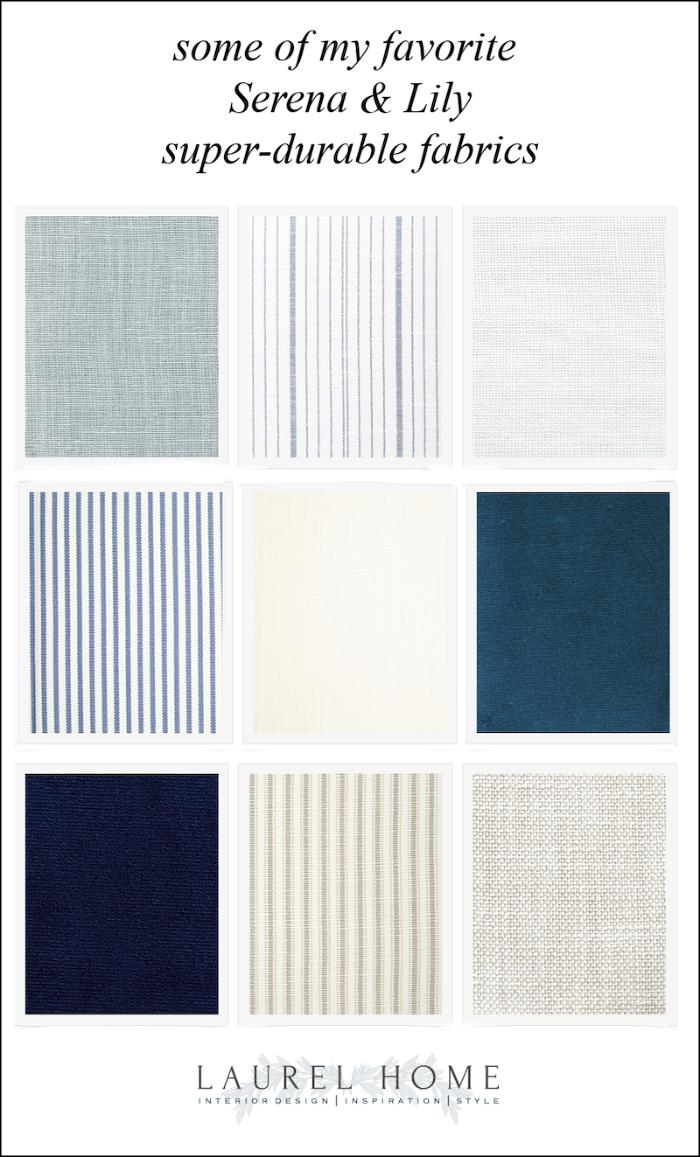 favorite Serena & Lily Fabrics