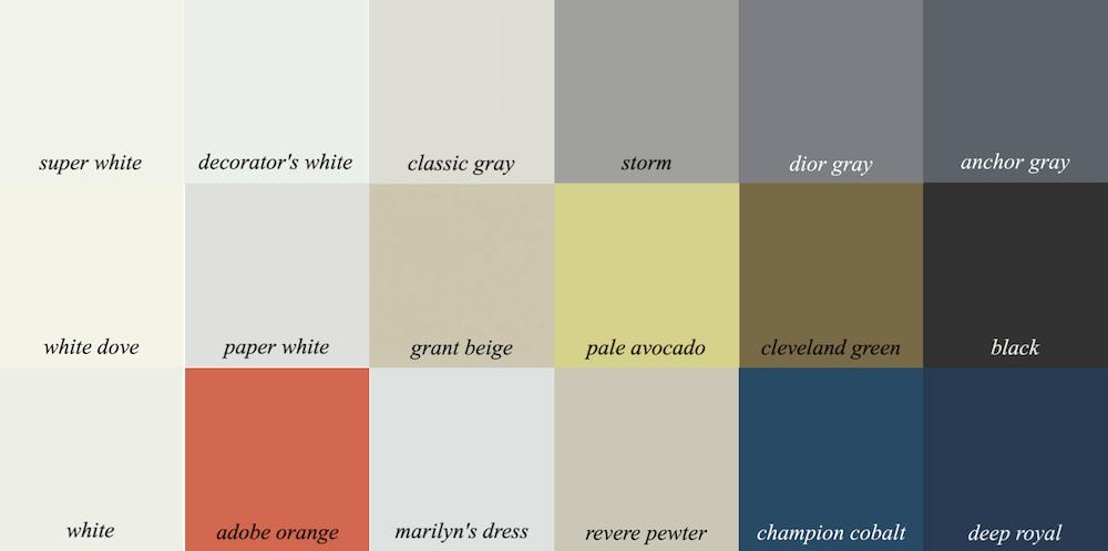 Neutral Coral Dark Blue Color Palette Beige Decor Laurel Home