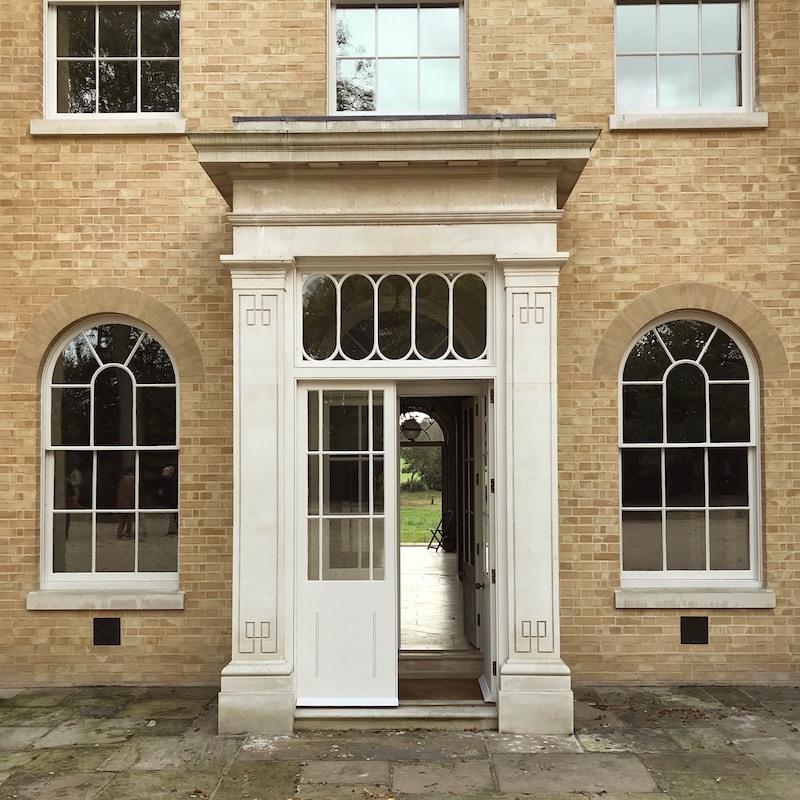 Classic Homes Adam Architecture Bighton Grange  George Saumarez Smith Front  Door Detail