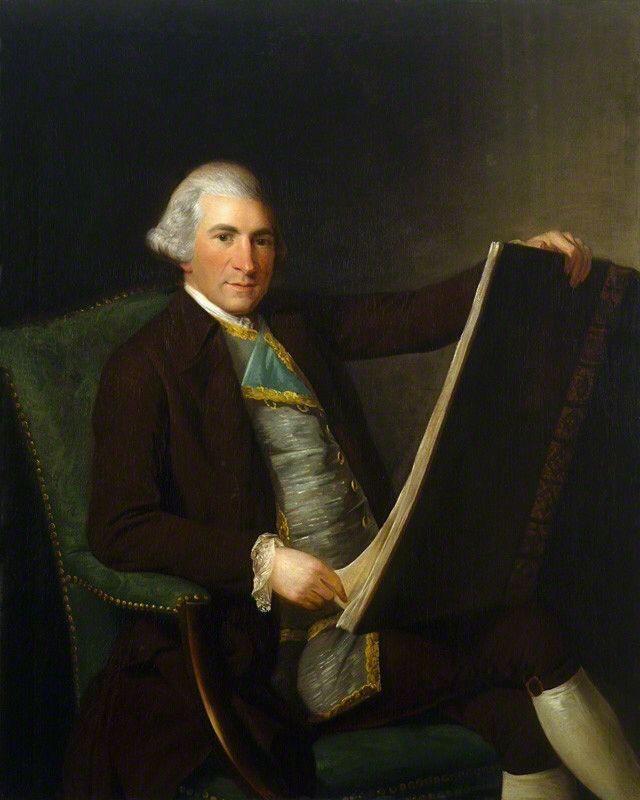george willison portrait of robert adam neoclassical architect