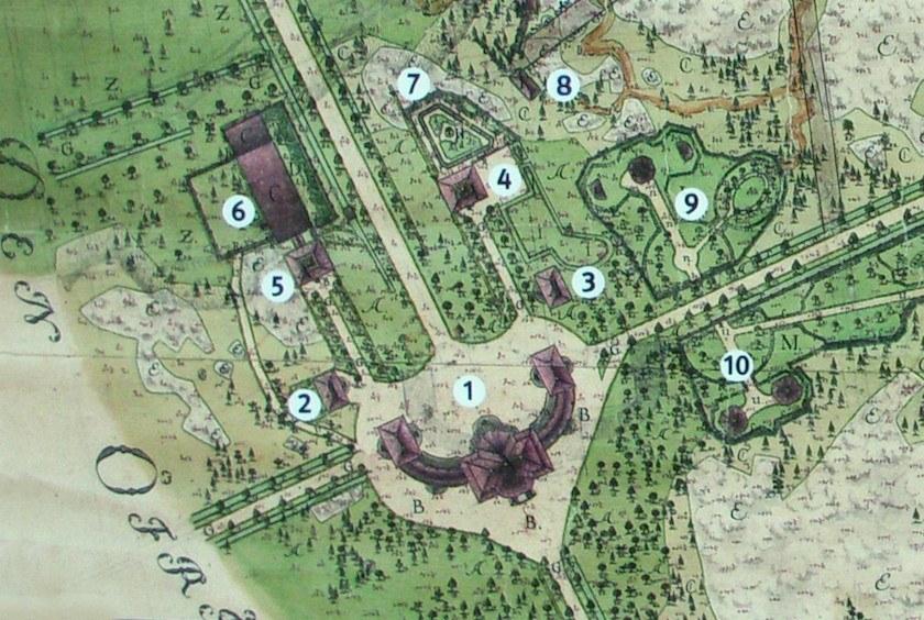 Chinese Pavillion plans Plus out buildings Drottningholm - Kina_slott - Chinoiserie Decor