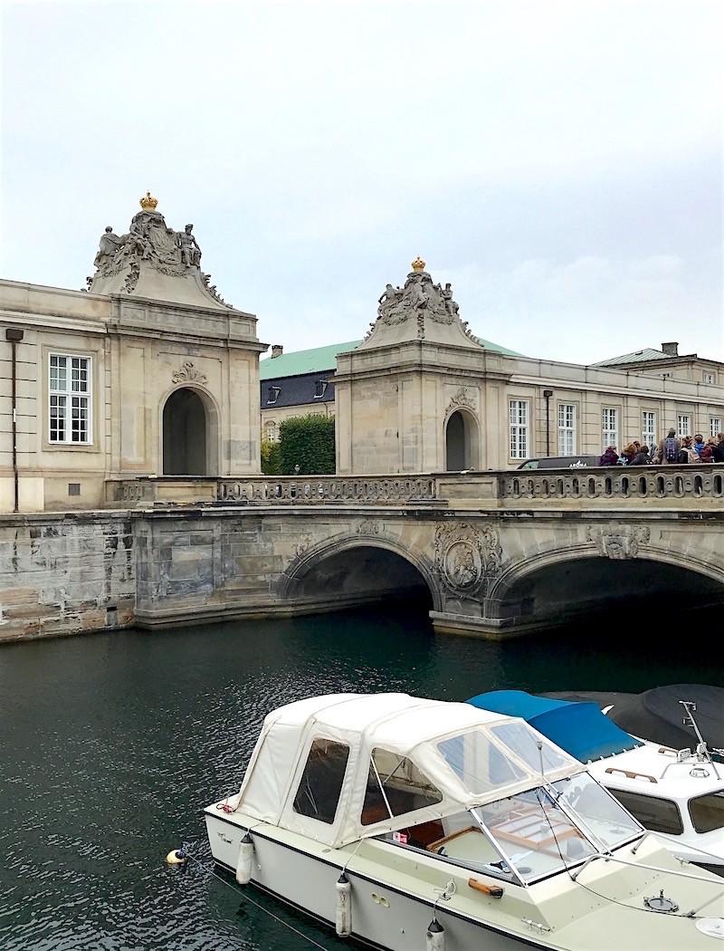 Christiansbourg palace gates - Copenhagen design tour - designtrailcph