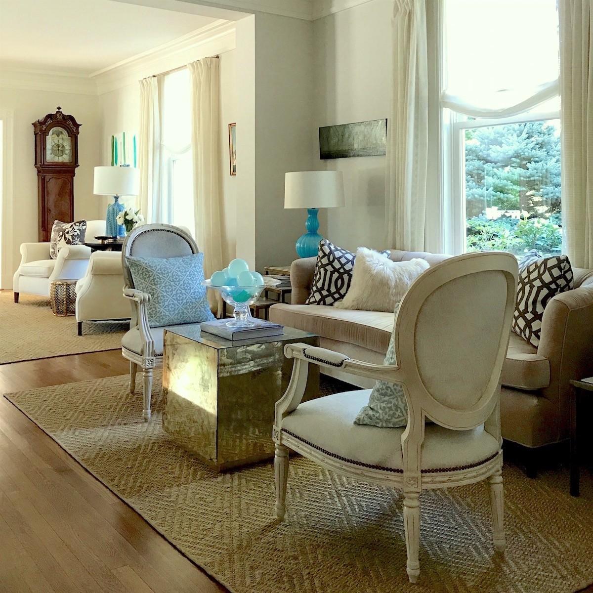 Home Staging Expert Lotte Meister U2013 Rye NY Interior Designers U2013 Living Room  Pueblo Sisal Rug