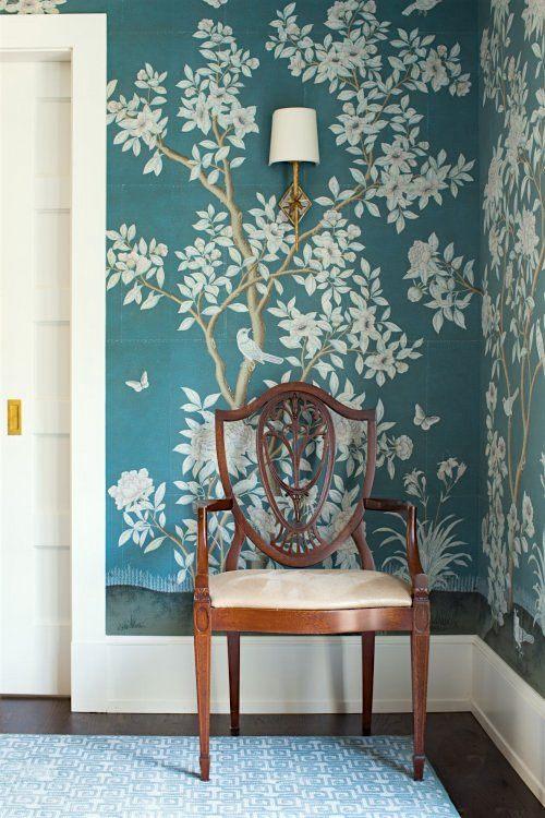 Laura Tutun Dining Room - Gracie wallpaper