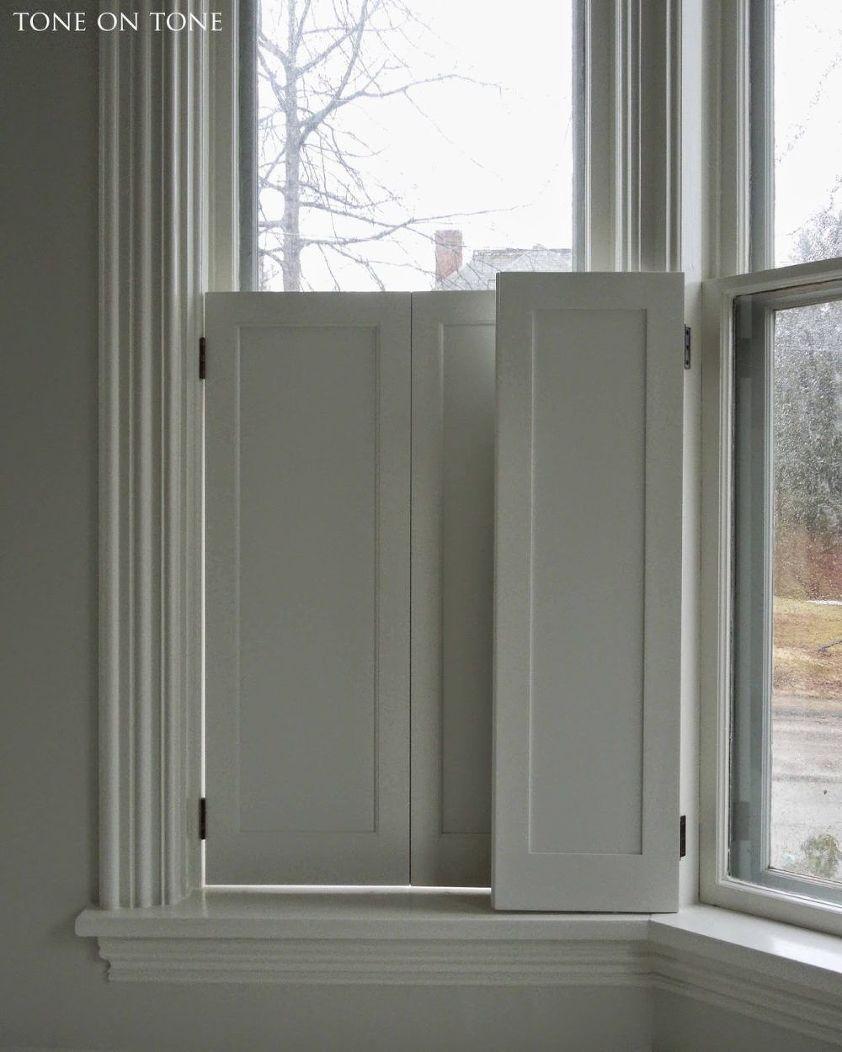 window shutter style Loi Thai Tone on Tone