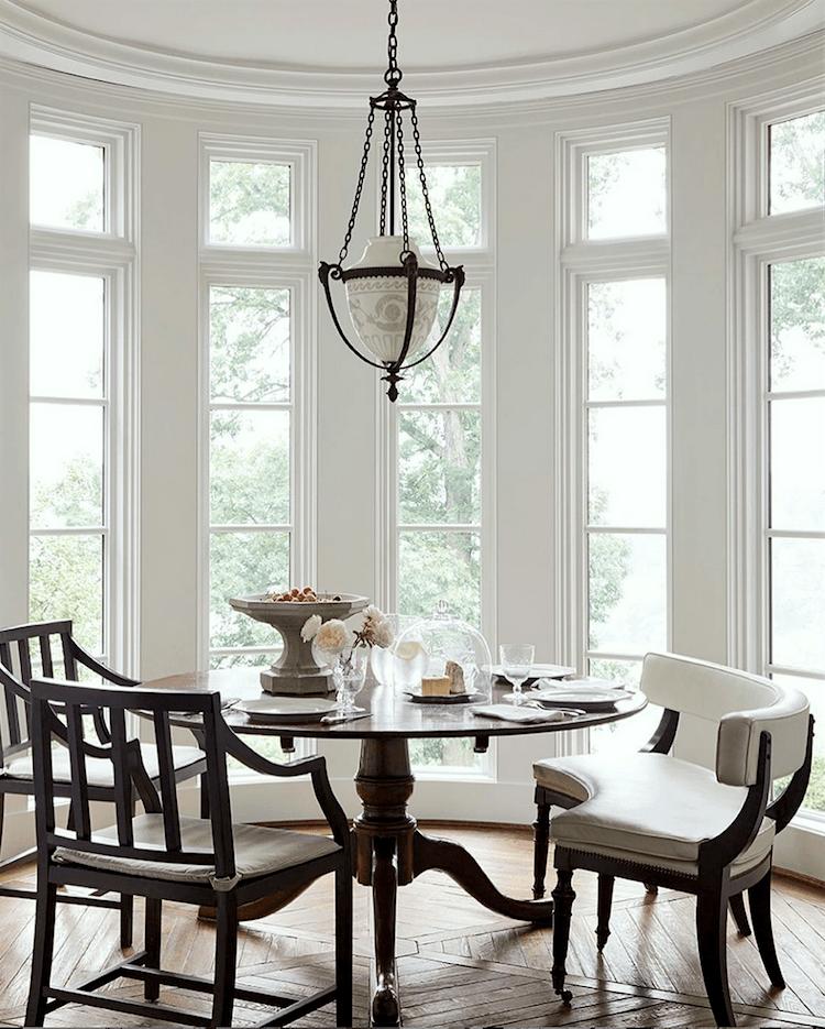 via @darrylcarterdesign on istagram - interior design trends for 2020- dining area