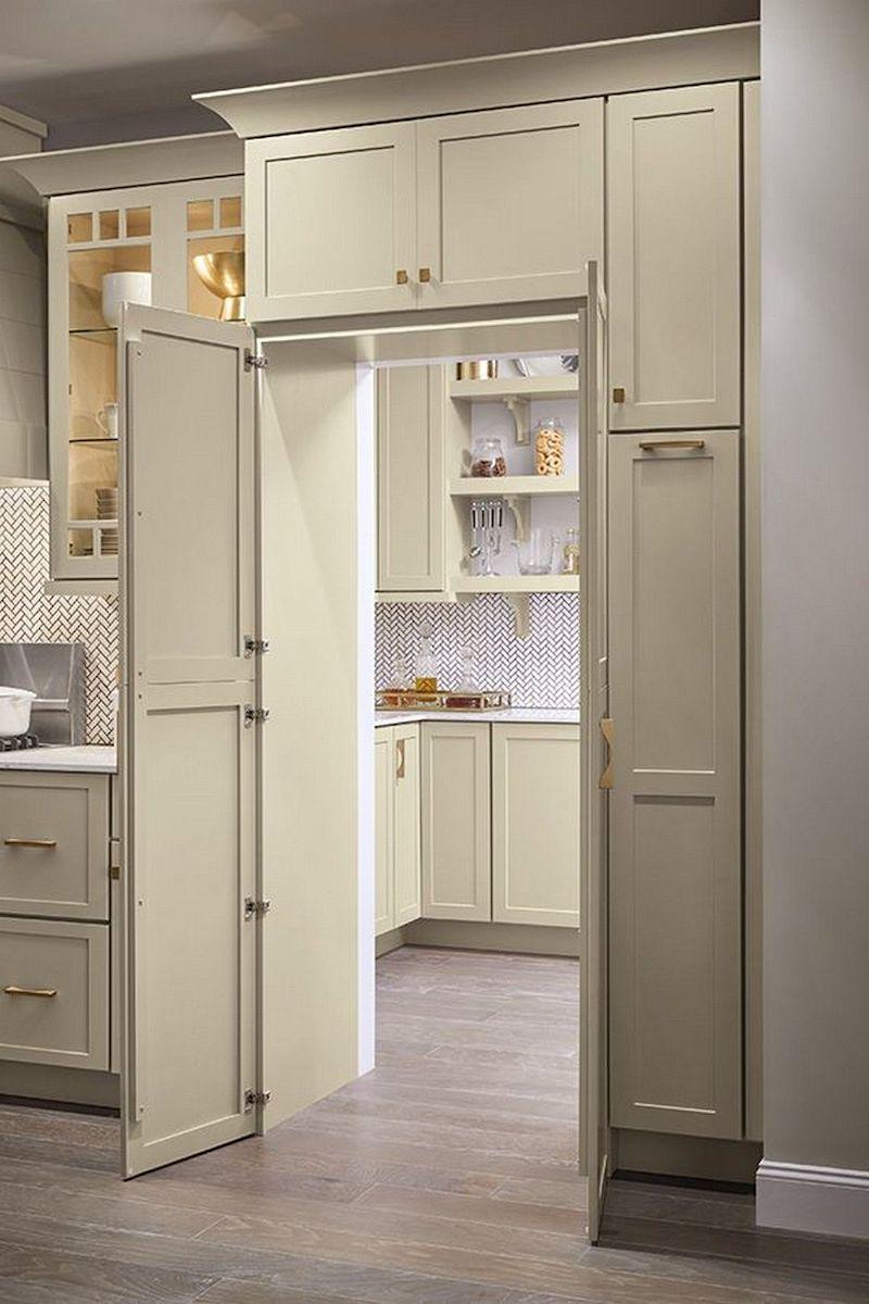 Master Brand Cabinetry hidden pantry - doors open