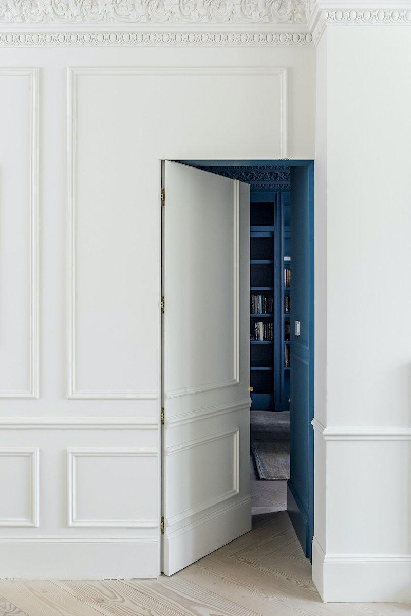 Undercover Architecture - jib door open - hidden doorway