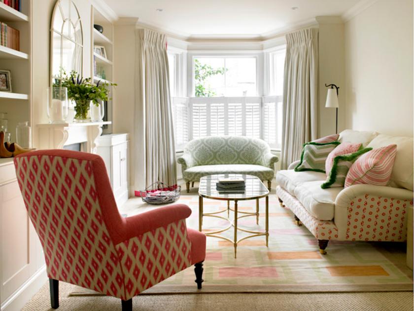amorybrown.co.uk - mismatched sofas