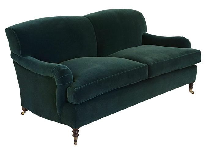 a-GeorgeSmith-HR_Standard_Arm_Sofa_Mohair-AKA - English Roll arm sofa