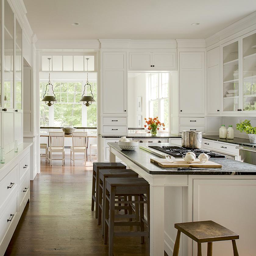 Donald Lococo Architects_Foursquare-Revival - classic white kitchens